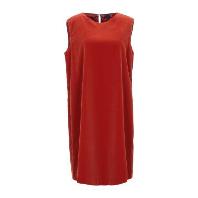 アスペジ ASPESI ミニワンピース&ドレス 赤茶色 38 コットン BCI 99% / ポリウレタン 1% ミニワンピース&ドレス