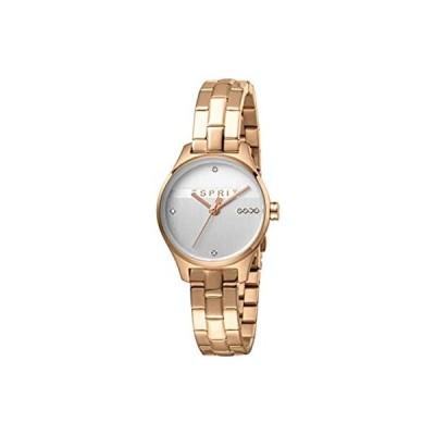 エスプリシルバーダイヤルレディース腕時計-ES1L054M0075