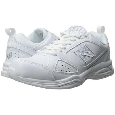 ニューバランス New Balance レディース スニーカー シューズ・靴 WX623v3 White/Silver