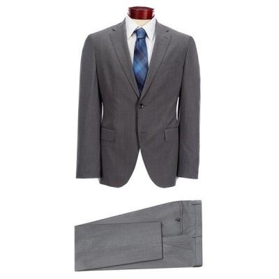 ヒューゴボス メンズ ジャケット&ブルゾン アウター BOSS Hugo Boss Johnstons/Lenon Solid Wool Suit Grey