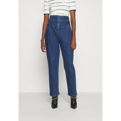 アルベルタ フェレッティ デニムパンツ レディース ボトムス TROUSERS - Slim fit jeans - blue
