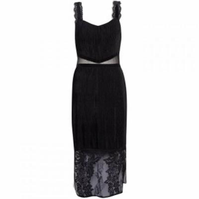 フレンチコネクション French Connection レディース ワンピース ワンピース・ドレス Sarelle Ottoman Velvet Jersey Strappy Dress Blac