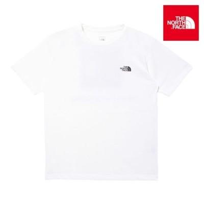 THE NORTH FACE ノースフェイス S/S Square Logo Tee NT32038 メンズ 半袖 Tシャツ HH1 E29