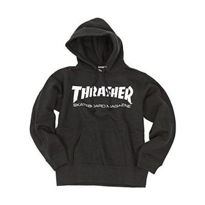 (スラッシャー) THRASHER マグロゴ プルオーバー パーカー TH8501 (BK:ブラック, M)