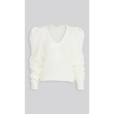 フィロソフィ ディ ロレンツォ セラフィニ Philosophy di Lorenzo Serafini レディース ニット・セーター トップス Puff Sleeves Sweater White