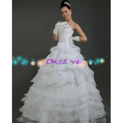 【送料無料】ウェディングドレス、結婚式、二次会ドレス、花嫁ドレス、パーティードレス ウェディング ドレス★