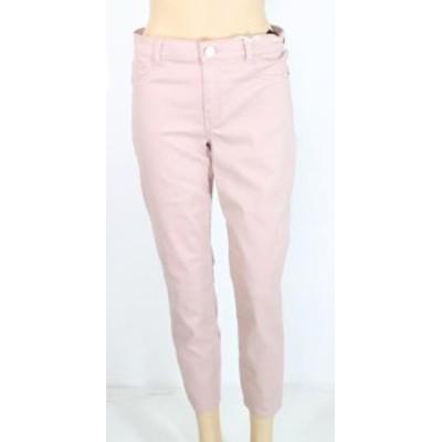 Jolt ジョルト ファッション パンツ Jolt Pink Size 9 Junior Slim Leg Stretch Mid Rise Faux Pocket Pants
