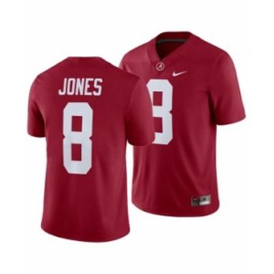 ナイキ メンズ シャツ トップス Men's Julio Jones Alabama Crimson Tide Player Game Jersey Crimson