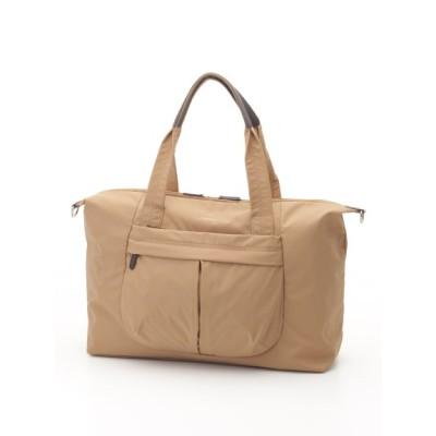 Y'SACCS(bag) (イザック(バック)) レディース ナイロンタフタ ボストンバッグ ベージュ フリー