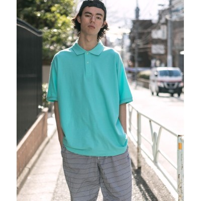 ROOP TOKYO / 鹿の子ドライポロシャツ / レギュラーカラー ホリゾンタルカラー MEN トップス > ポロシャツ