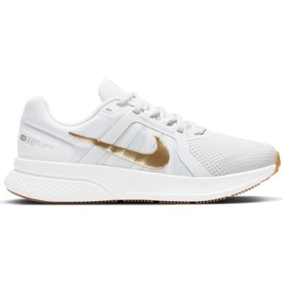 ナイキ シューズ レディース ランニング Nike Women's Run Swift 2 Running Shoes White/Gold
