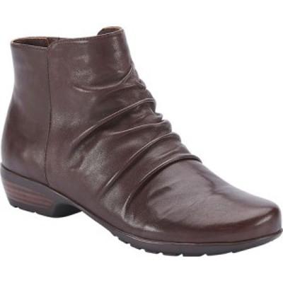 ウォーキング クレードル Walking Cradles レディース ブーツ シューズ・靴 Esme Ankle Bootie Brown