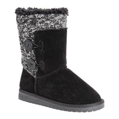ムクルクス ブーツ&レインブーツ シューズ レディース Matilda Sweater Boot (Women's) Black