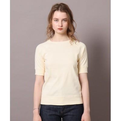 DRESSTERIOR / フライス半袖カットソー WOMEN トップス > Tシャツ/カットソー