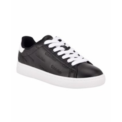 カルバンクライン レディース スニーカー シューズ Women's Ryder Active Sneakers Black White
