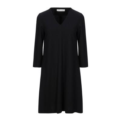 リビアナ コンティ LIVIANA CONTI ミニワンピース&ドレス ブラック 42 レーヨン 68% / ナイロン 27% / エラステレル-p
