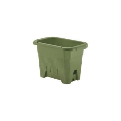 リッチェル 水ラク 菜園上手プランター 45型 グリーン