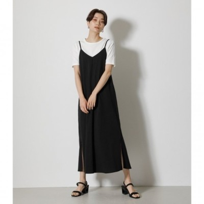 BACK LACE-UP CAMI ONEPIECE/バックレースアップキャミワンピース /レディース/ワンピース ワンピース  ノースリーブ【MARKDOWN】