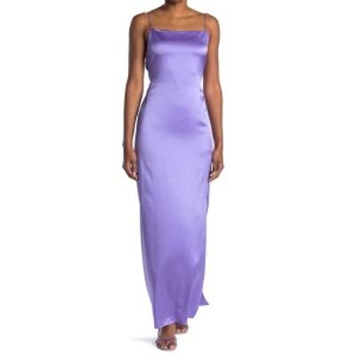 ヘルムート ラング レディース ワンピース トップス Open Back Silk Slip Dress VOLTAIC PURPLE