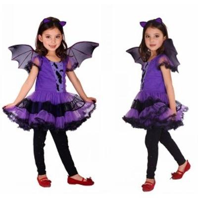 【即納】クリスマス サンタ コスプレ ハロウィン コスプレ【送料無料】子供 ワンピース Halloween コスプレ衣装 魔女 子供 可愛い 小悪