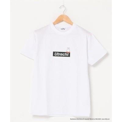 tシャツ Tシャツ 【MIFFY/ミッフィー】プリントTシャツ 絵本キャラクター ユニセックス