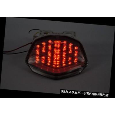 USテールライト ブレーキテールライトLEDクリア統合ターンシグナルカワサキ2008-2012忍者250R  Brake Tail Light LED
