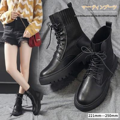 1MC153-✨マーティンの靴  超美脚人気商品NO.1   靴  レディース  3.5cm美脚 シューズ 靴 カジュアル  スニーカー 黒  大きいサイズ
