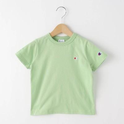 デッサン Dessin 【100-130cm】champion ベーシックコットン(綿)Tシャツ (オリーブグリーン)