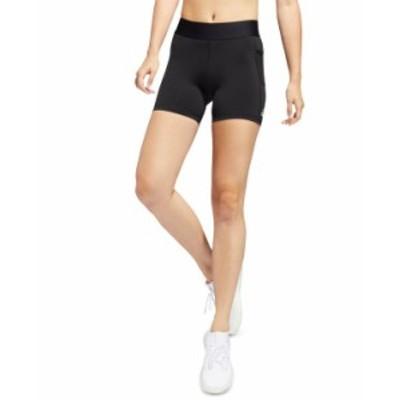アディダス レディース ハーフパンツ・ショーツ ボトムス Women's Alphaskin Tech-Fit Compression Shorts Black/white