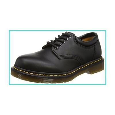 Dr. Martens 8053 5 Eye Padded Collar Shoe, Black Nappa, 10 UK/11 US Men【並行輸入品】