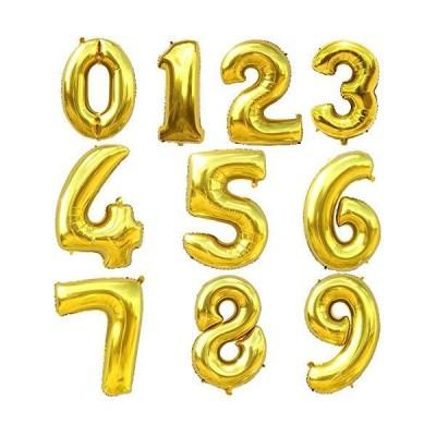 シャンムグ誕生日 飾り 風船 セット 数字バルーンゴールド バースデー パーティー 誕生日 飾り付けウェディン