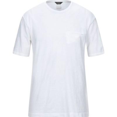 オジオ HoSIO メンズ Tシャツ トップス T-Shirt White