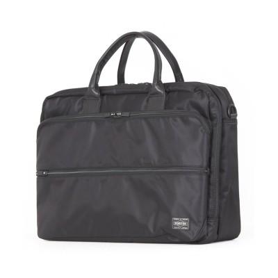 【カバンのセレクション】 吉田カバン ポーター タイム ビジネスバッグ メンズ 軽量 大容量 A4 B4 PORTER 655-06167 ユニセックス ブラック 在庫 Bag&Luggage SELECTION