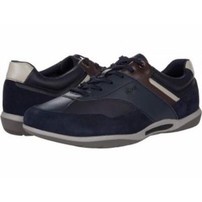 Geox ジオックス メンズ 男性用 シューズ 靴 スニーカー 運動靴 Volere 1 Navy【送料無料】
