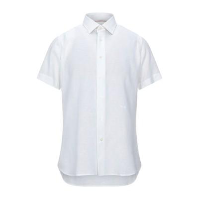 アルヴィエロ マルティーニ プリマ クラッセ ALVIERO MARTINI 1a CLASSE シャツ ホワイト 41 リネン 55% / コット