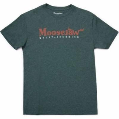 ムースジョー Moosejaw メンズ Tシャツ トップス Original Vintage Regs SS Tee Forest