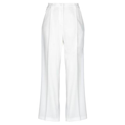 マニュエル リッツ MANUEL RITZ パンツ ホワイト 40 ポリエステル 94% / ポリウレタン 6% パンツ