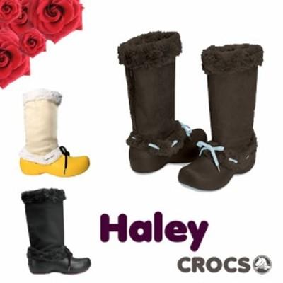 【送料無料】CROCS Haley Lady's クロックス ハレイ レディース ブーツ【女性用】[CC]【70】