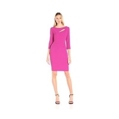 ドレス アンクライン Anne Klein レディース ドレス・ワンピース 1060773 Crepe Cut Out Sheath ドレス. Orchid