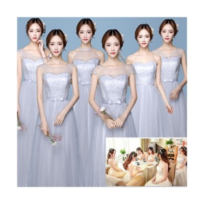 XXS/XS/S/M/L/XL/2XL ブライズメイド服 花嫁 ウェディングドレス 花嫁の介添えドレス ロングドレス プリンセスドレス da233c0c0m2