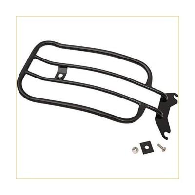 Motherwell MWL-175-18GB 7in. Solo Luggage Rack - Gloss Black 並行輸入品