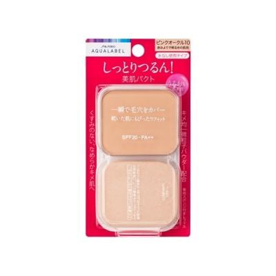 資生堂(SHISEIDO) アクアレーベル 保湿・肌あれケア モイストパウダリー ピンクオークル10 (レフィル) 赤みよりで明るめの肌色 (11.5g)