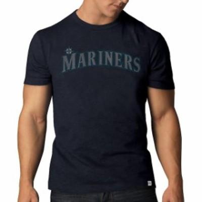 47 フォーティーセブン スポーツ用品  47 Seattle Mariners Navy Basic Wordmark Scrum T-Shirt