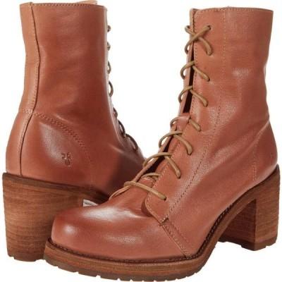 フライ Frye レディース ブーツ シューズ・靴 Karen Combat Light Rose Vintage Veg Tan