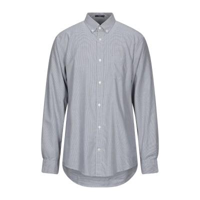 ガント GANT シャツ ブルー 39 コットン 60% / テンセル 40% シャツ