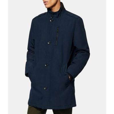 マークニューヨーク メンズ ジャケット・ブルゾン アウター #double;Cullen#double; Long-Sleeve Oxford Military-Style Coat