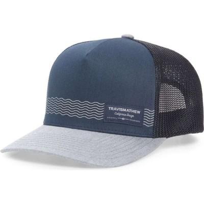 トラビスマシュー TRAVISMATHEW レディース キャップ トラッカーハット 帽子 Culebra Trucker Hat Mood Indigo