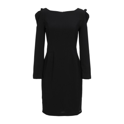 ARMANI EXCHANGE ミニワンピース&ドレス ブラック 8 ポリエステル 93% / ポリウレタン 7% ミニワンピース&ドレス