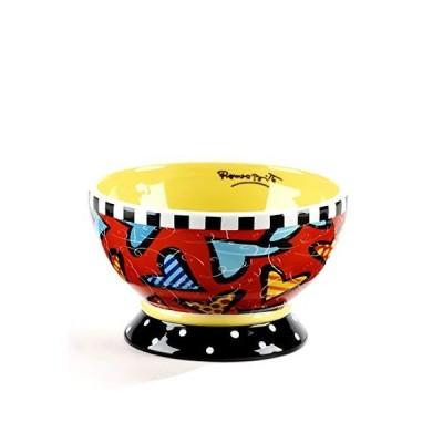 Romero Britto Dessert Dish / Icecream Bowl - Hearts - Pop Art Kunst aus Mia