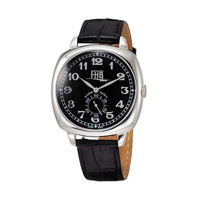 [エフエイチビー] 腕時計 F901 F901-SBA 正規輸入品 ブラック
